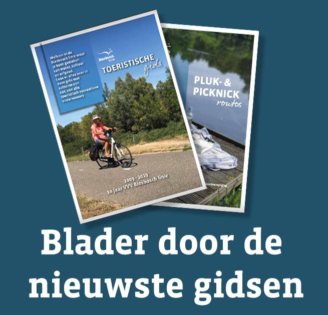 Toeristische gids, plukroute en picknickroute Bieschbosch-Altena
